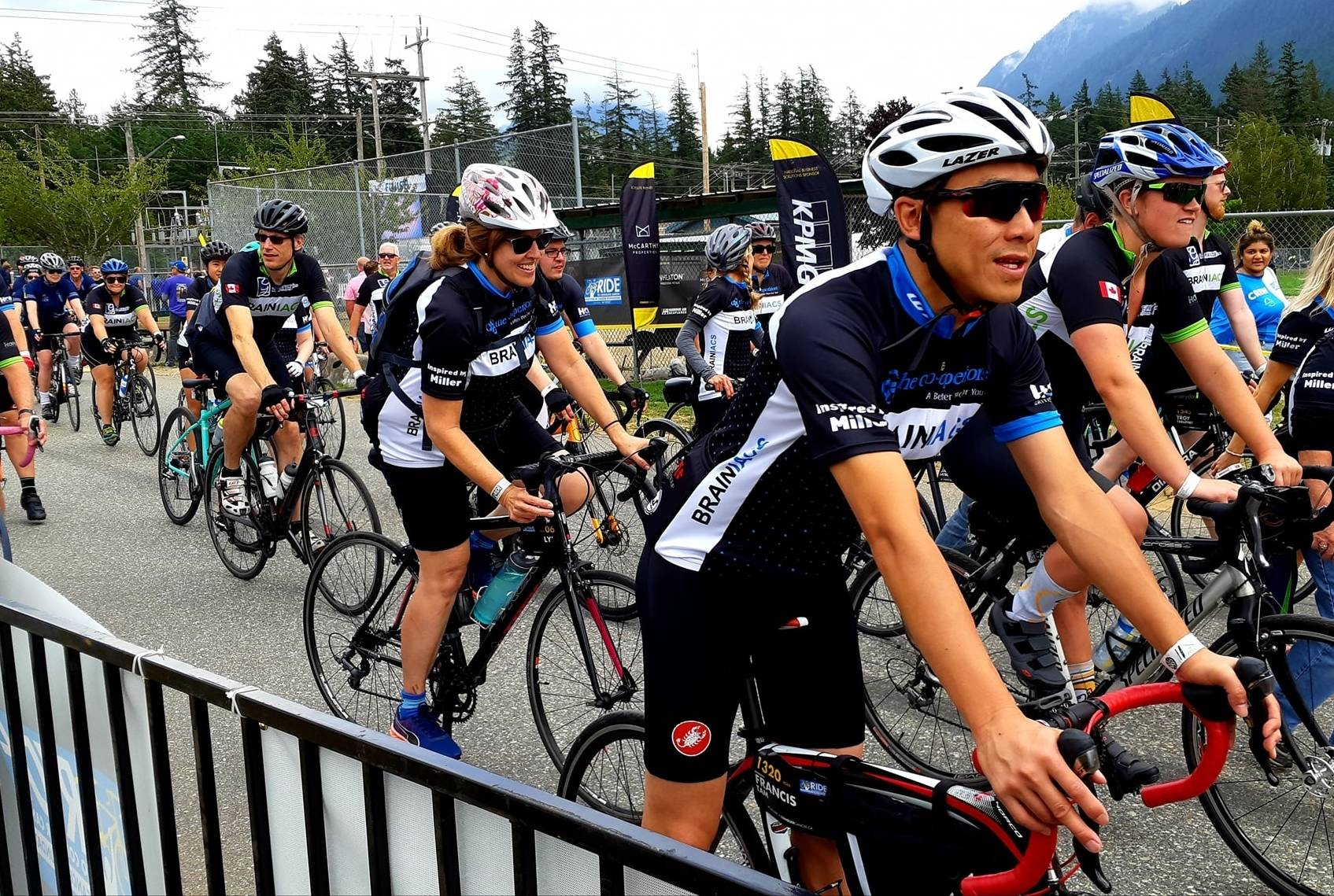 VIDEO: Ride to Conquer Cancer rolls into Hope