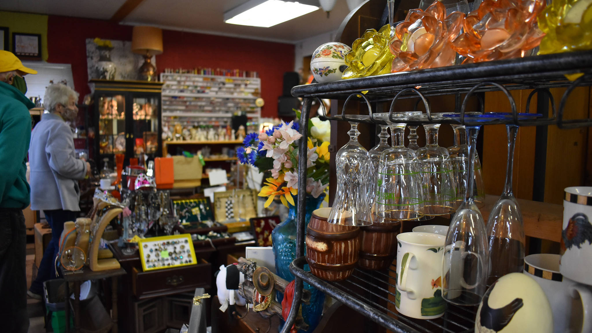 Ma & Pa's Memory Lane owners say their shop is meant to be a place where anyone can come in and find nice, quality items and afford them too. (Emelie Peacock/Hope Standard)